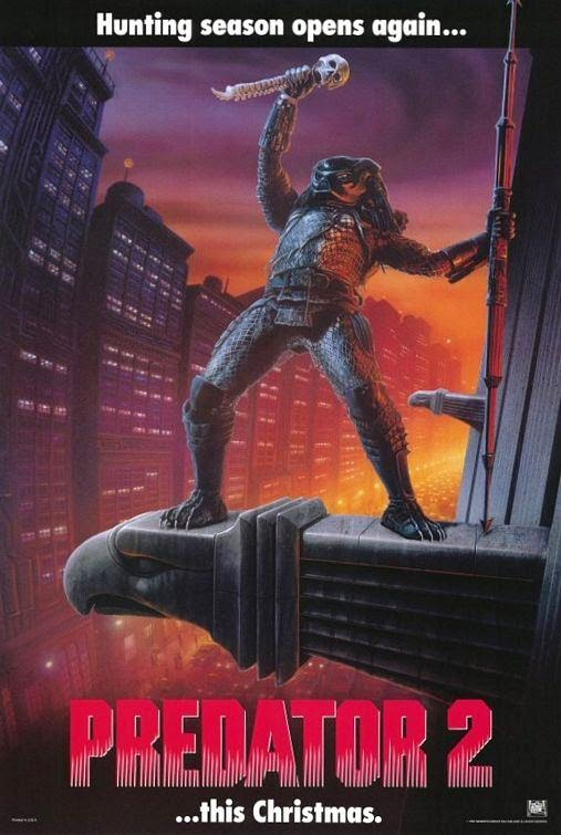 Poster Of Predator 2 (1990) Full Movie Hindi Dubbed Free Download Watch Online At Alldownloads4u.Com