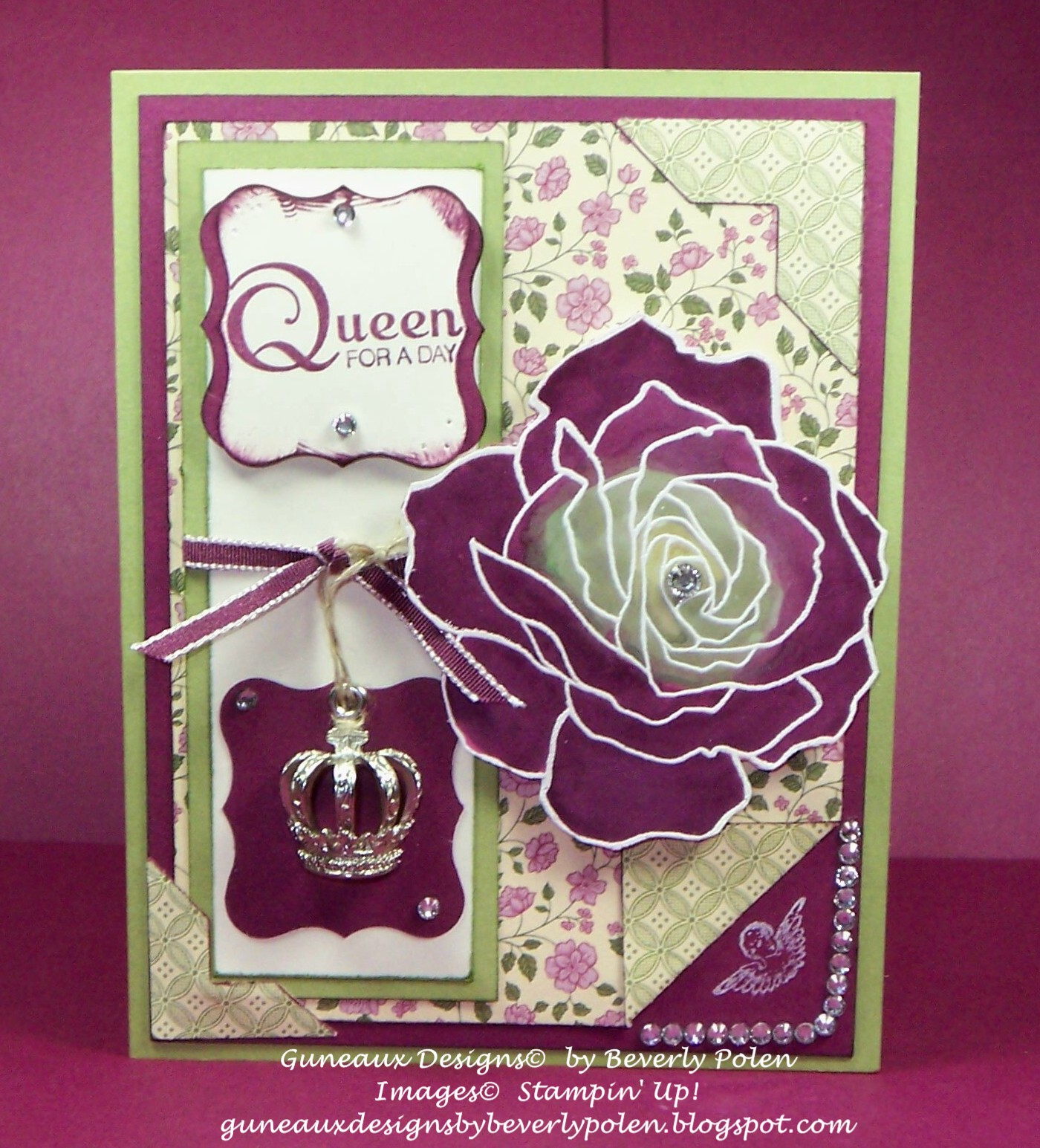 Stampin up birthday card ideas this stampin up card is one i