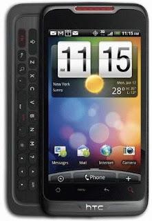 HTC Merge Smartphone images
