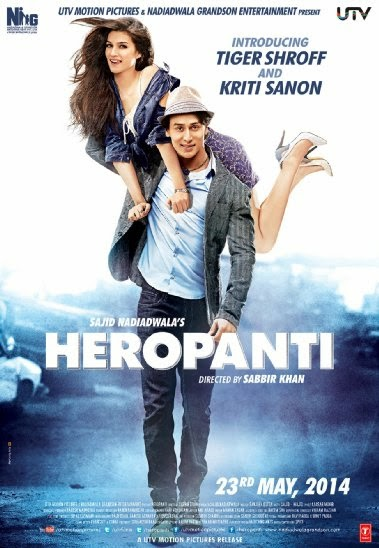 Cover of Heropanti (2014) Hindi Movie Mp3 Songs Free Download Listen Online at Alldownloads4u.Com