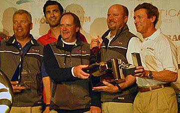 J/80 Le Tigre sailing team- Darden Hillard and crew