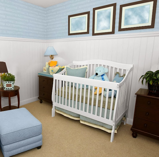 Baby Room Painting Ideas: For Girls and Boys