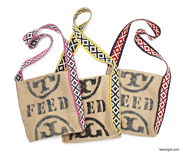 Holt Renfrew x Tory Burch x FEED Limited Edition Totes