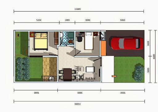 Galeri inspirasi Sketsa Rumah Minimalis 2015 yang bagus