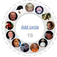 Shared Circles on G+