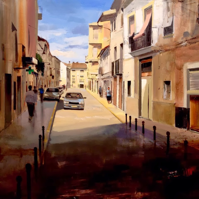 Cistobal Perez Garcia,Toval,Pintor,Pintura,Primer Premio Pintura,Concurso,Pintura Rápida, Pintura Vicente Armiñana,Rafelguaraf,pintor,pintura,premio,