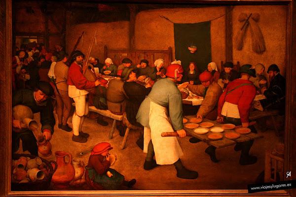 Brueghel, el viejo. Boda campesina. 1568