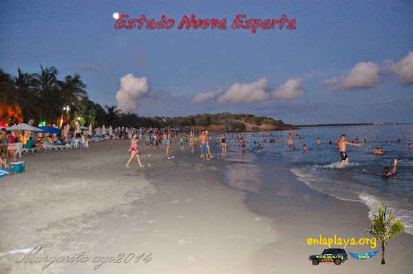 Playa El Yaque NE133, Estado Nueva Esparta, Tubores, Venezuela, top100
