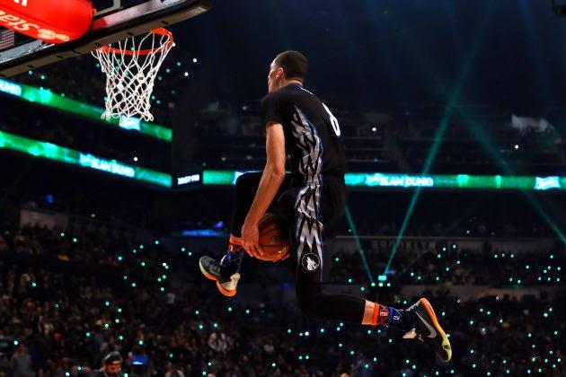 zach lavine 2015 nba slam dunk contest champion-video