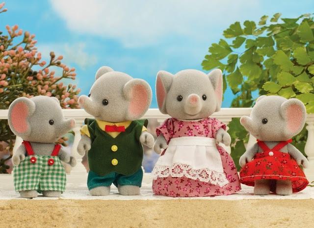 Gia đình nhà Voi - Elephant Family dễ thương, giúp bé thêm năng động và thông minh hơn trong cuộc sống