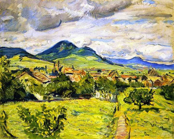 Max Slevogt - Spring in the Palatinate, 1910
