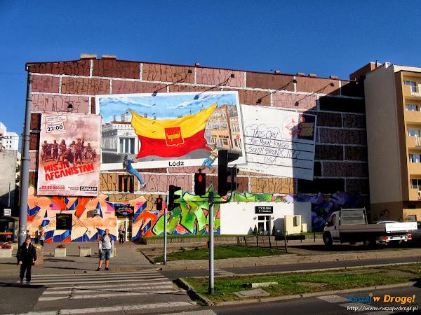 łódź kreuje - murale w centrum miasta