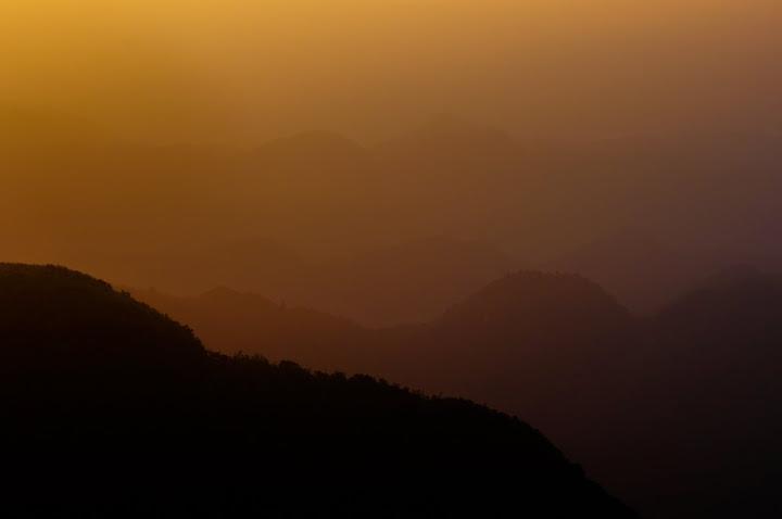 台北 五分山雲霧日出&無耳茶壺山  早起只為唯一美景