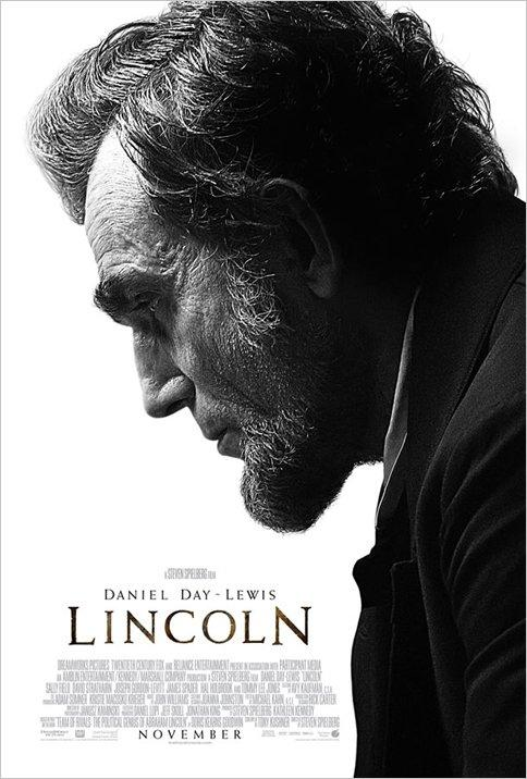 Daniel Day-Lewis as Lincoln New Movie Poster