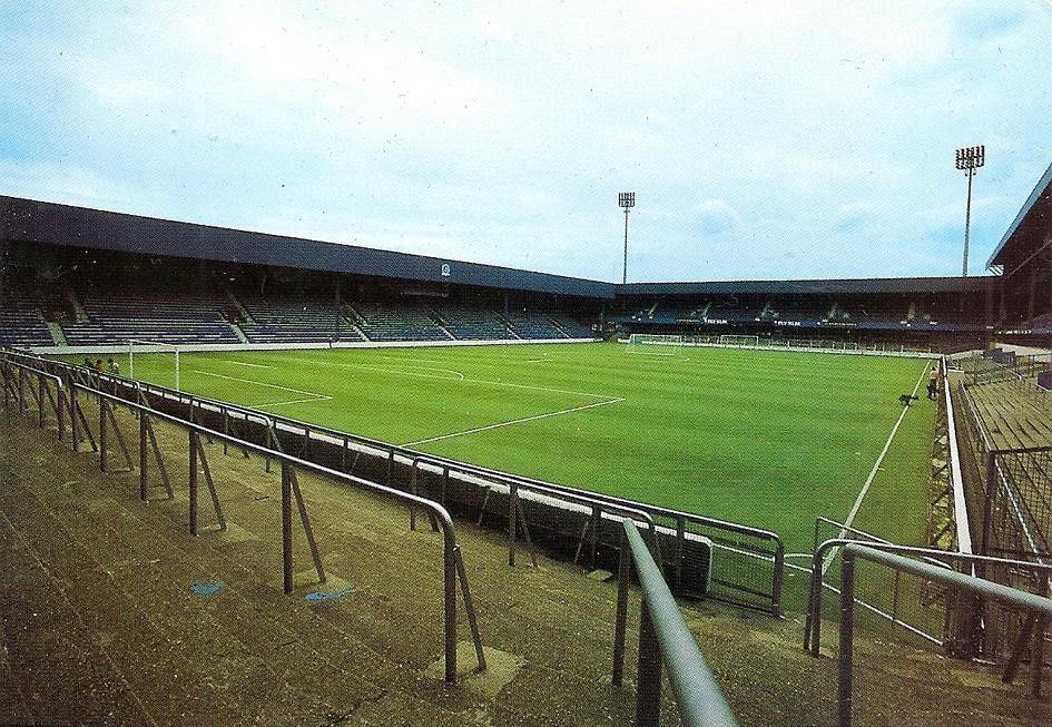 Stadium View. LOFTUS ROAD.