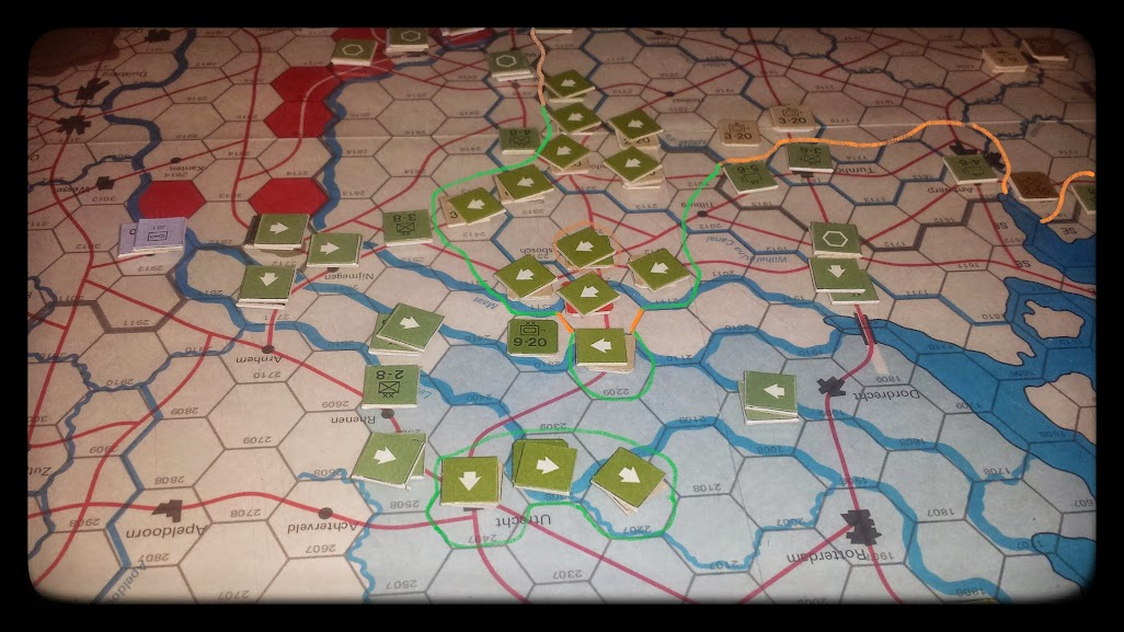 Road to the Rhine - 6th impulse - the game ends.