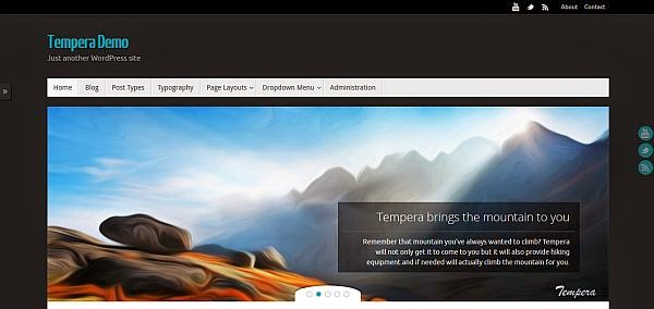 25 New Free Responsive WordPress Themes 15 25 New & Free Responsive WordPress Themes