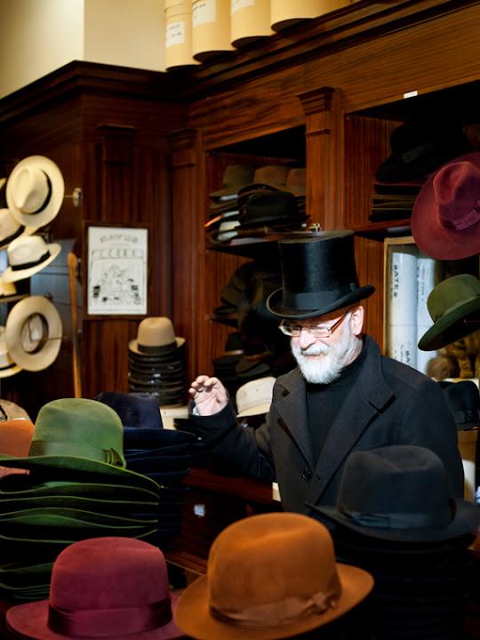 Terry uwielbia kapelusze