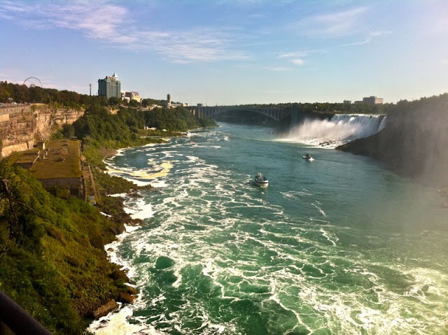 暑假美东学校行之三:Cornell University  Niagara Falls(转贴) - Jennifer - 雨夜相思客