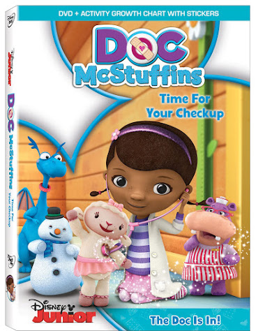 "Disney Junior's Doc McStuffins ""Time For Your Check Up"" DVD"