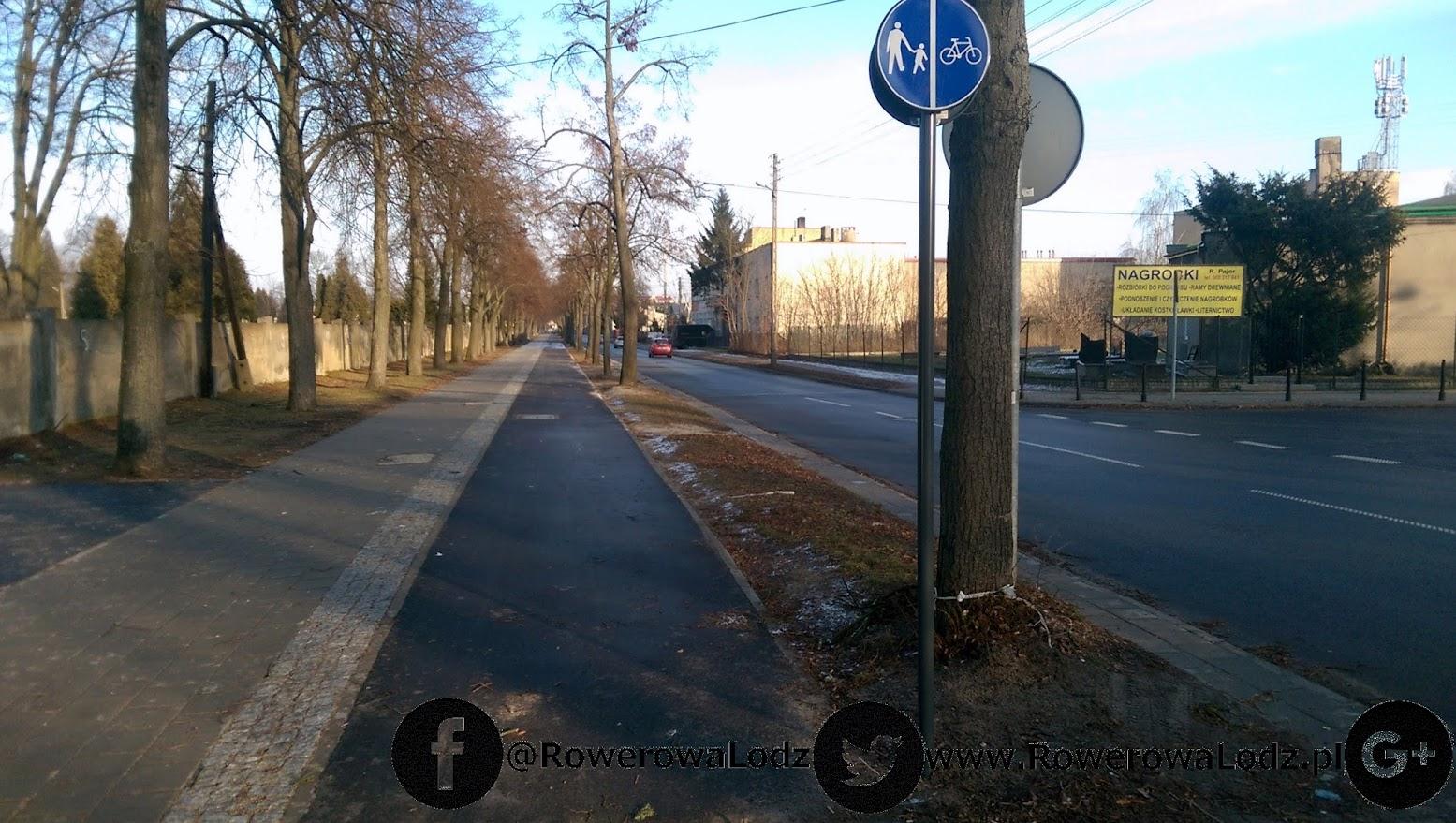 Czy naprawdę przy takiej lokalnej ulicy powinno się separować rowerzystów? W naszej ocenie NIE