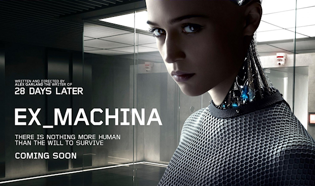 Watch Two Trailers for Alex Garland's A.I. Sci-Fi Thriller 'Ex Machina'