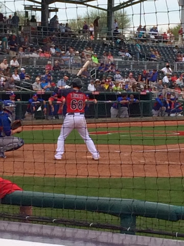Arizona, Goodyear, Spring Training, Indians, Jake Lowery
