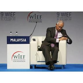 Najib Terlelap Dalam Forum Ekonomi Dunia Islamik?