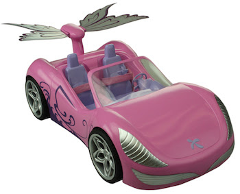 Winx Butterflix car