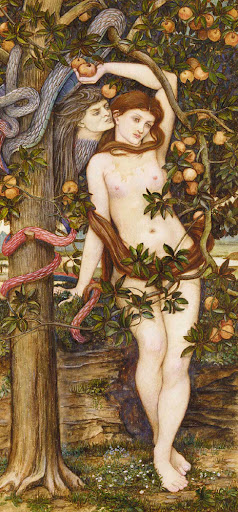 John Roddam Spencer Stanhope - The Temptation of Eve