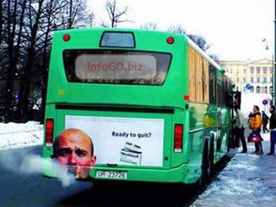 autobus pušenje