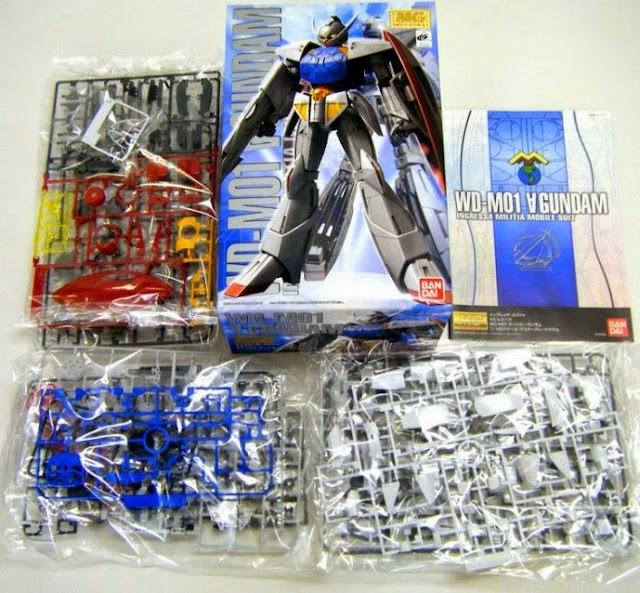 Sản phẩm lắp ghép WD-M01 Turn A Gundam MG 1/100 được sản xuất tại Nhật Bản
