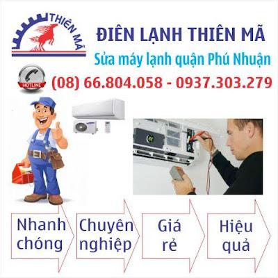 Sửa máy lạnh tận nhà quận Phú Nhuận
