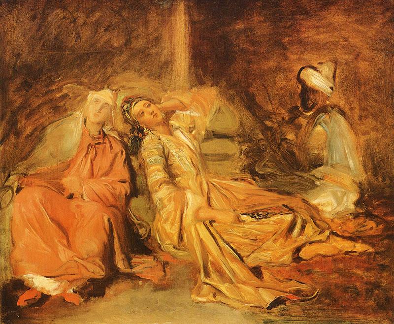 Théodore Chassériau - Harem