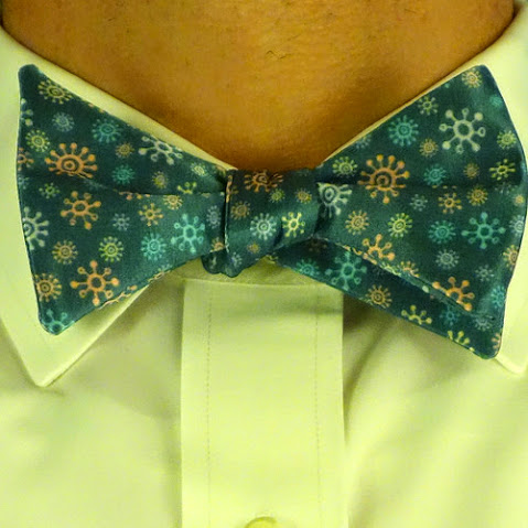 Life On Mars Bowtie worn by a model