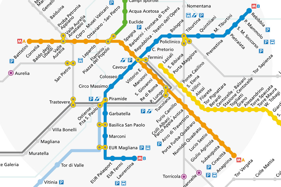 Plano Transporte Roma