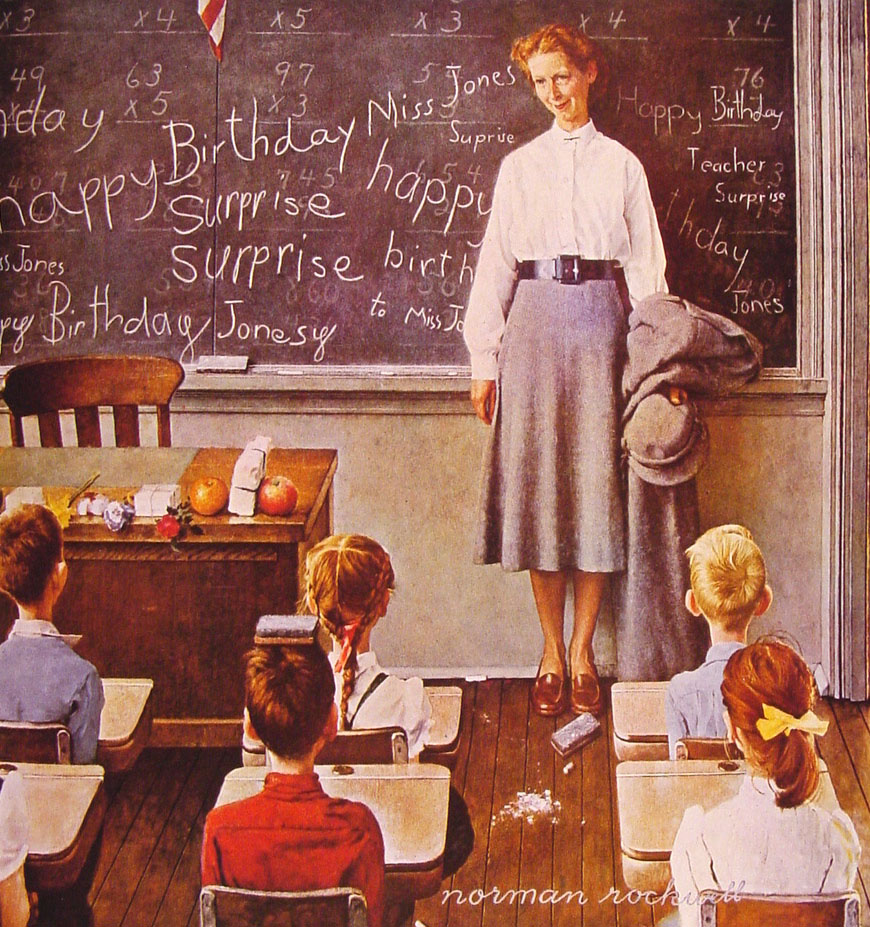 Art Amp Artists Norman Rockwell