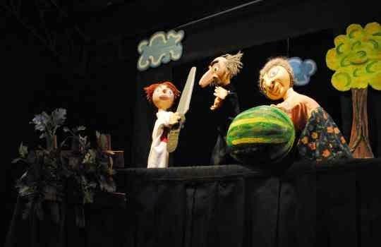Teatro de titeres para fiesta infantil