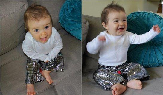 Disco Baby Pants