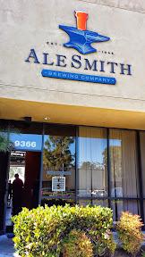 AleSmith Brewing Company, San Diego CA