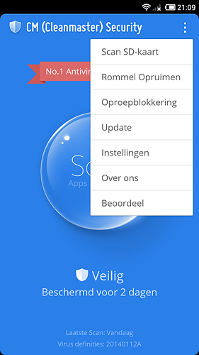 CM Security App voor Android, iPhone en iPad