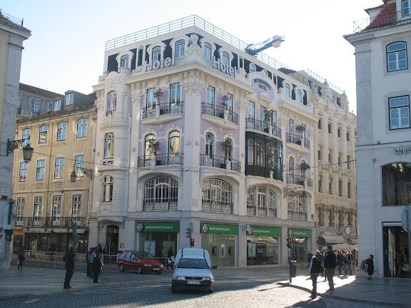 La Baixa en Lisboa