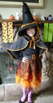 Pottery Barn Kids Kid Witch Tutu Costume