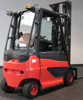 Xe nâng điện Linde 2.5 tấn