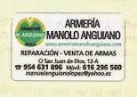 ARMERÍA MANOLO ANGUIANO EN SEVILLA