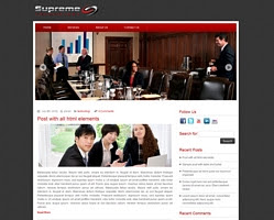 Supreme Technology by zebrathemes.com
