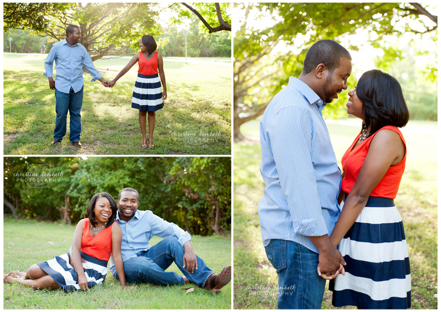 Couple photos in evening light for anniversary