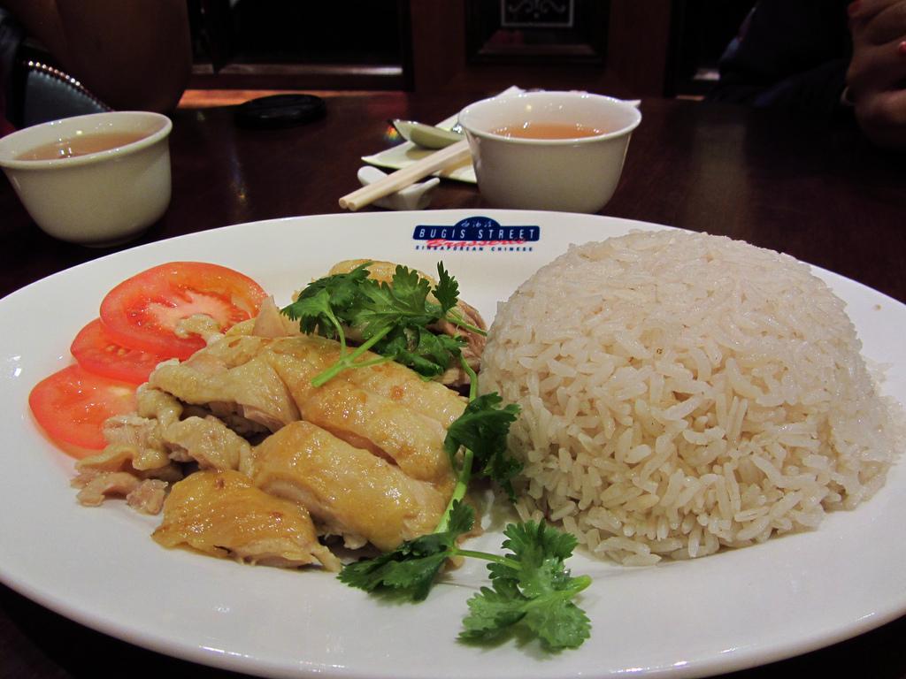 Bugis Street - Hainanese chicken rice | Bugis Street Brasser… | Flickr