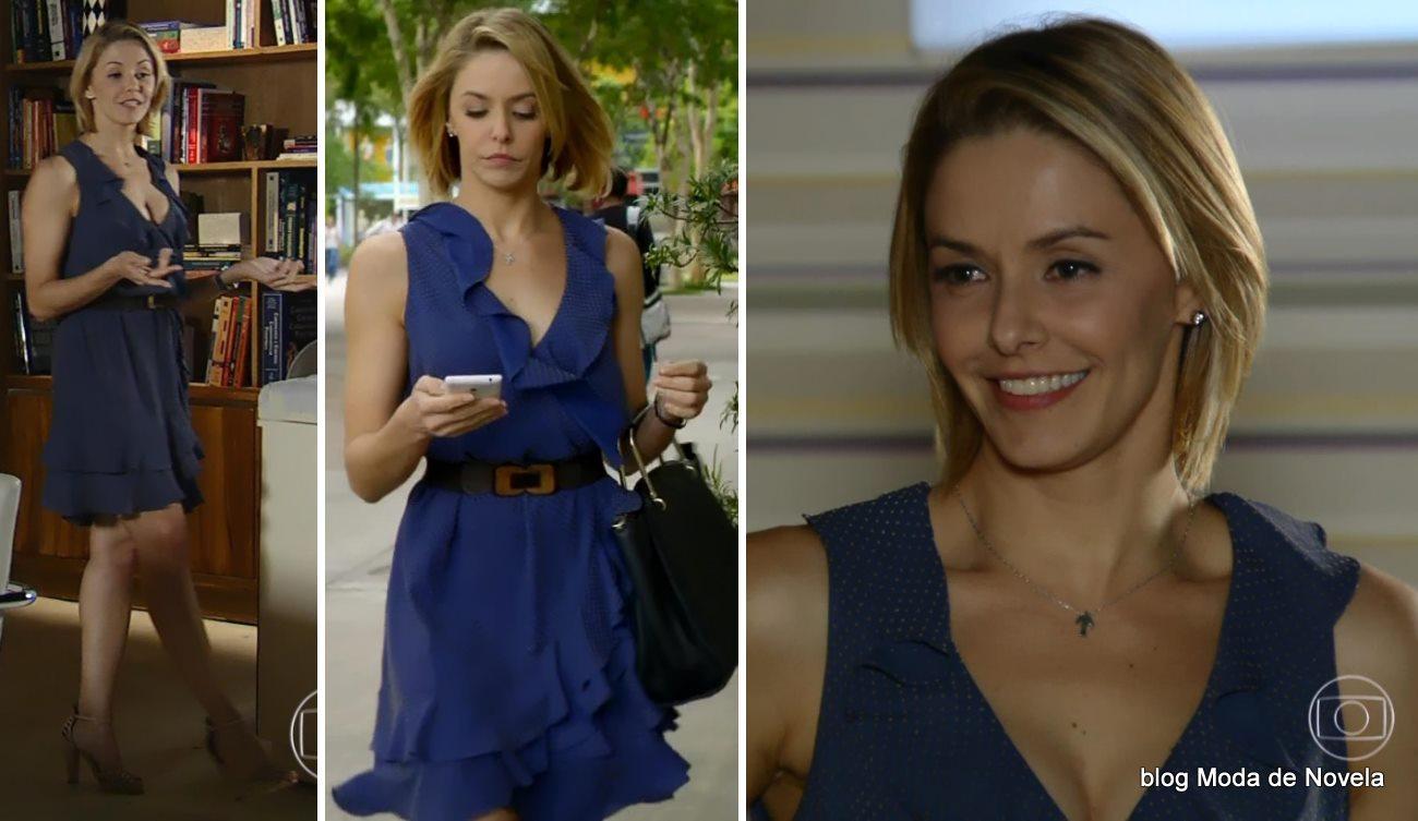 moda da novela Em Família - look da Silvia dia 31 de maio
