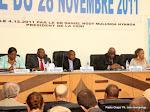Des membres du bureau de la Ceni le 19/04/2012 à Kinshasa. Radio Okapi/ Ph. John Bompengo